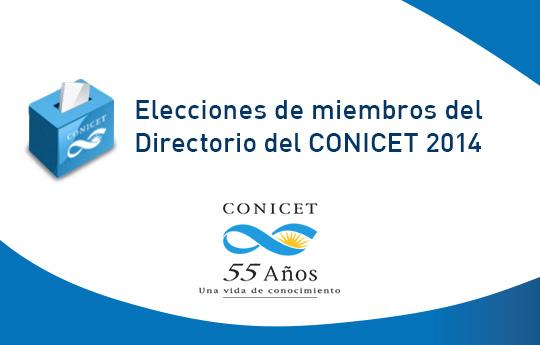 Elecciones CONICET 2014