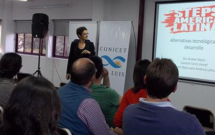 """Dra. Anabel Marin - Charla  """"Pueden los países emergentes generar sus propias trayectorias de desarrollo científicas y tecnológicas?"""""""