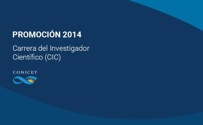 El CONICET informa los resultados de la convocatoria de Promociones 2014   Conicet